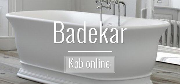 Badekar - zink - kobber - porcelæn