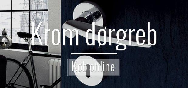 Krom dørgreb - elegante og eksklusive