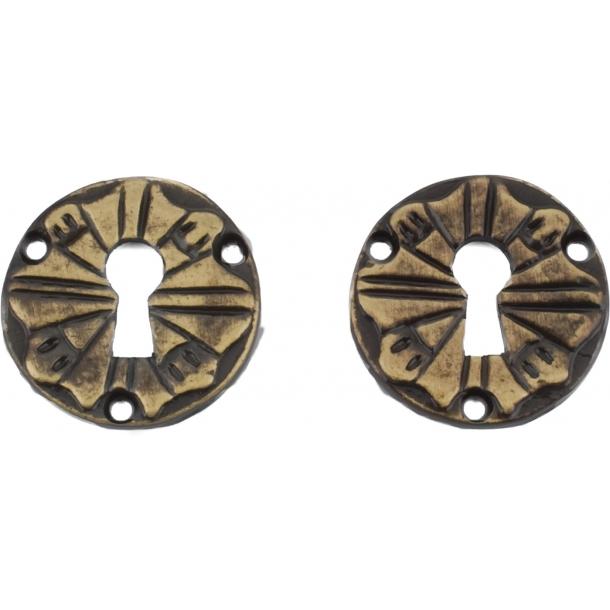 escutcheon 1471, Antique brass