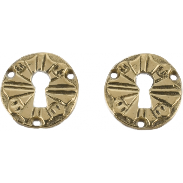 Escutcheon 1471, Polished Brass
