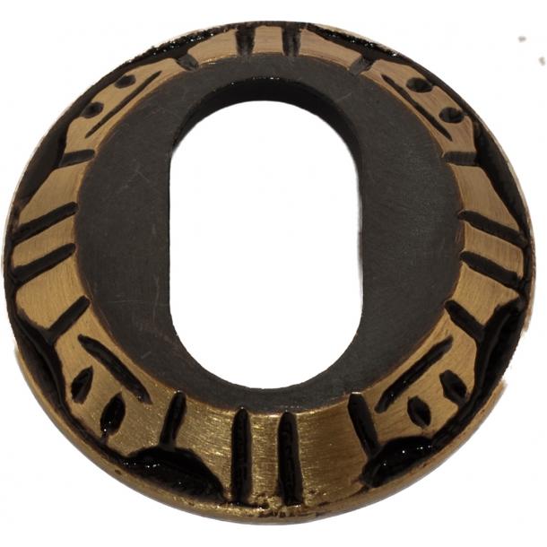 Cylinderring (udvendig) 1472 Oval cylinder Antik