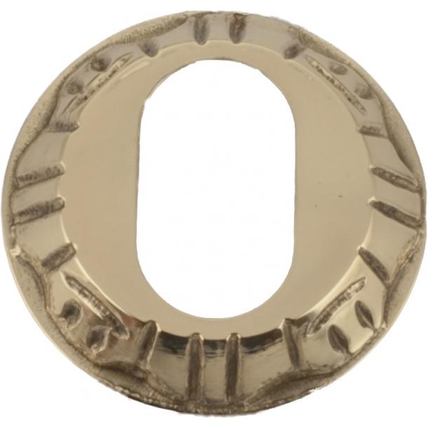 Cylinderring (udvendig) 1472 Oval cylinder, Poleret messing