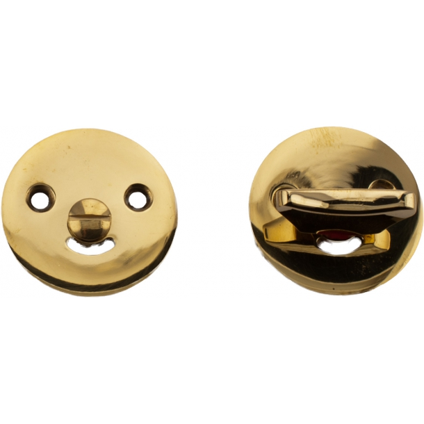 Toilet indicator lock 1982 Boda brass without lacquer