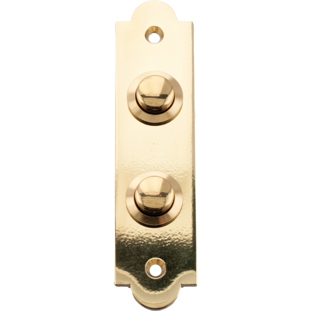 Bell push - Brass - Model 547-2 Double