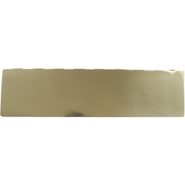 Backboard, Letter slot brass 360 x 75 mm model 1990