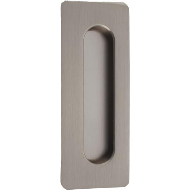 Schiebeplatte 598 96 Nickel Satin 110x42x / 102x31x10mm