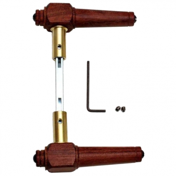 Door handle wood - 671 - Rosewood wood