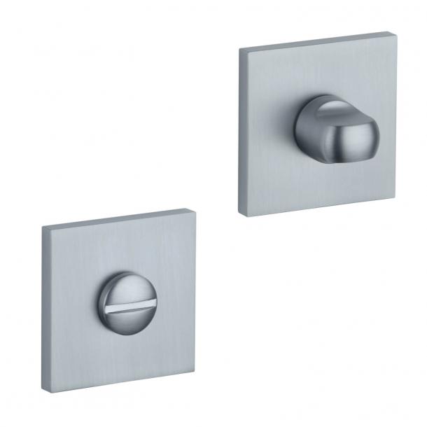 Aprile Privacy lock - Satin chrome - Model APRILE Q SLIM - 7MM