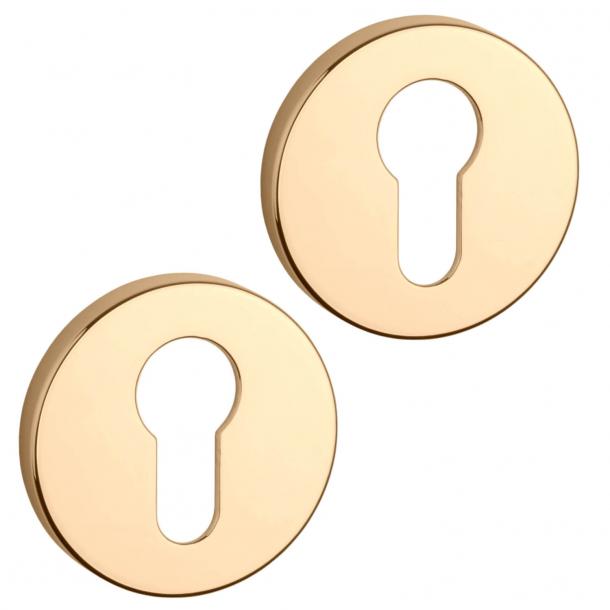 Aprile PZ Cylinder ring - Gold - model APRILE R SLIM PZ - 7 mm