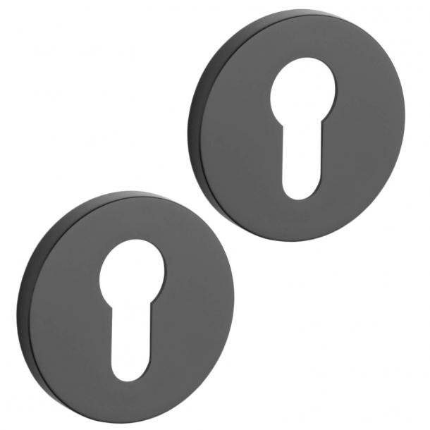 Aprile PZ Cylinder ring - Black - model APRILE R SLIM PZ - 7 mm