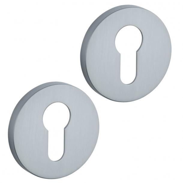 Aprile PZ Cylinder ring - Satin chrome - model APRILE R SLIM PZ - 5 mm