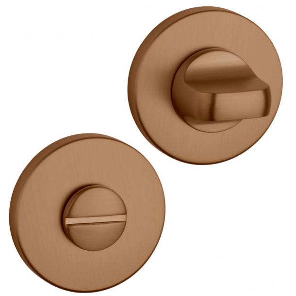 Aprile Privacy lock - Copper - model APRILE R SLIM WC - 5mm
