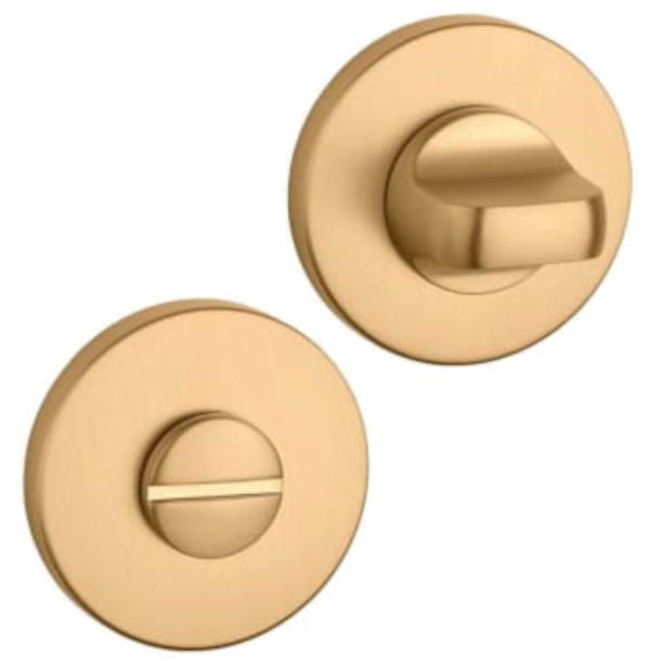 Aprile Privacy lock - Matt gold - model APRILE R SLIM WC - 7mm