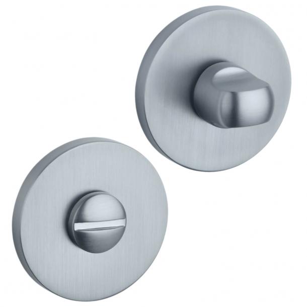 Aprile Privacy lock - Satin chrome - model APRILE R SLIM WC - 7mm