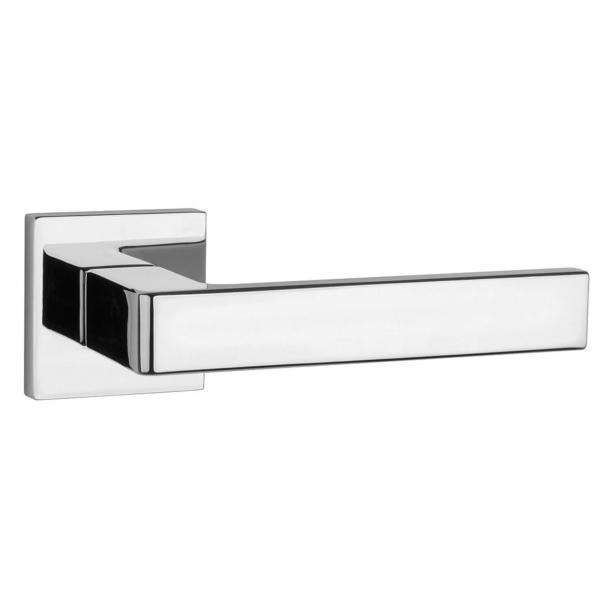 Aprile Door handle - Polished chrome - Model Sulla Q