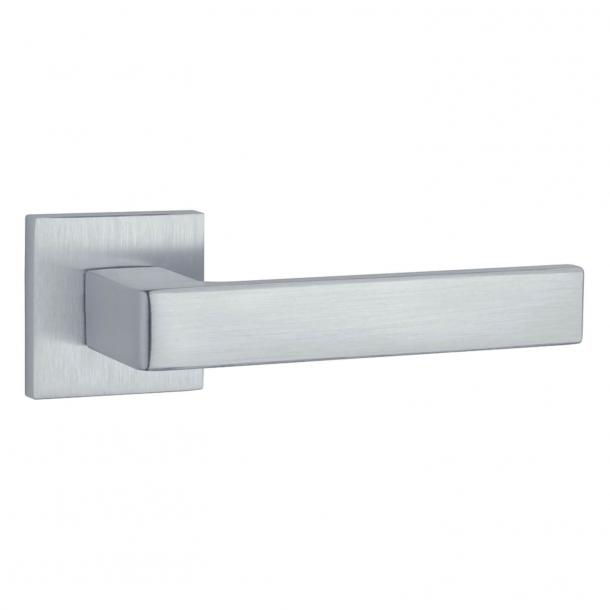 Aprile Door handle - Satin chrome - Model Sulla Q