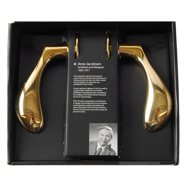 Arne Jacobsen dorhåndtag AJ dorgreb Messing Stor