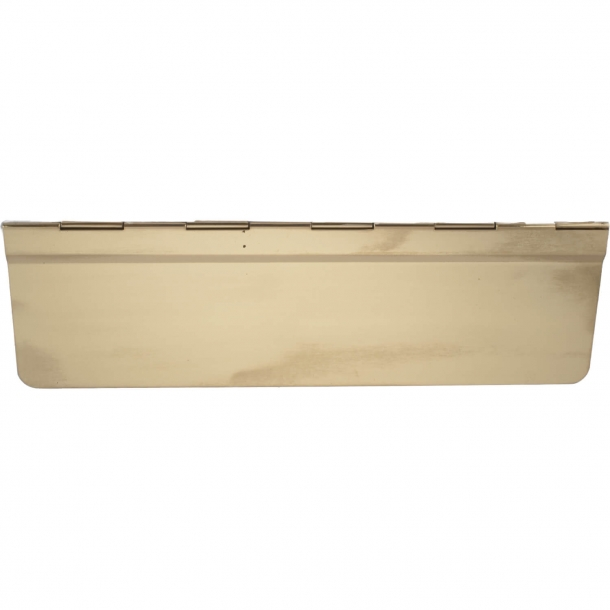 Backboard, Letter slot brass 295 x 91 mm - model 2668
