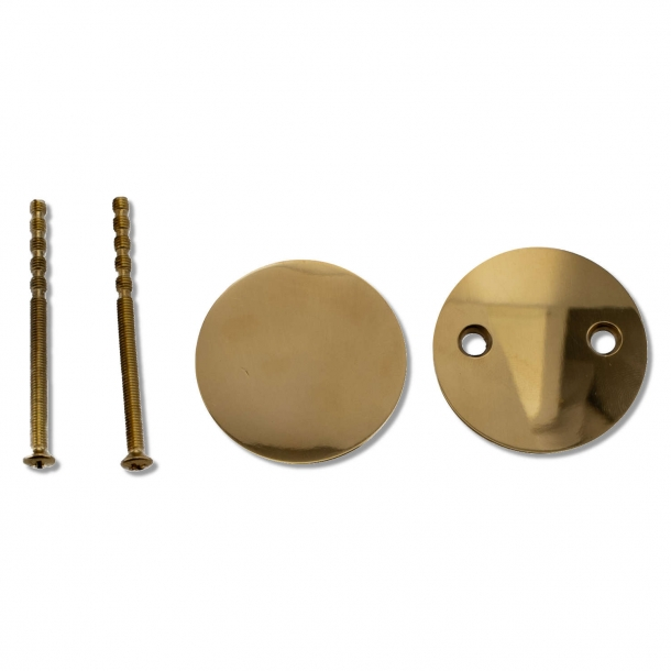 Blind plate brass interior (231551)