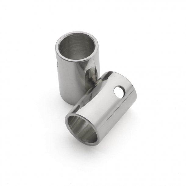 Türgriffe vernickelt - HORNBÆK - Roset mit versteckten Schrauben cc30 / 38mm