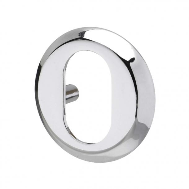 Cylinderring - Blanknikkel - Oval cylinder 6 mm