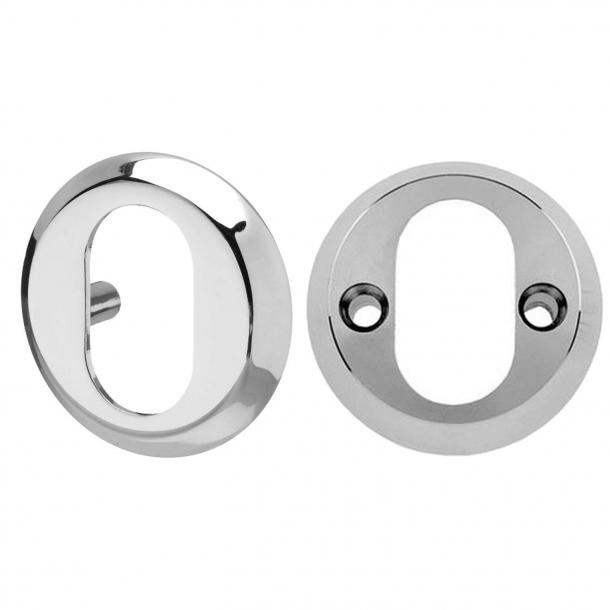 Cylinderring Udvendig 6 mm / Indvendig 16 mm - Blanknikkel