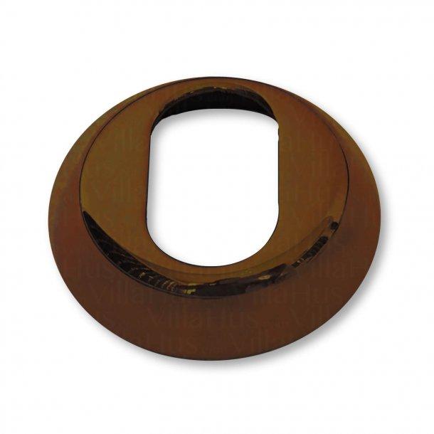 Arne Jacobsen cylinderring udvendig - Bruneret Messing - 6 mm