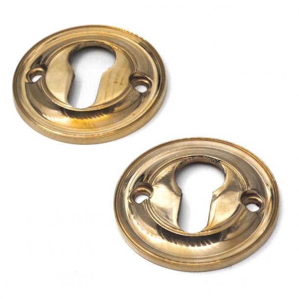 Dobbelt cylinderring - PZ lås - Messing - 6 mm - ø58mm