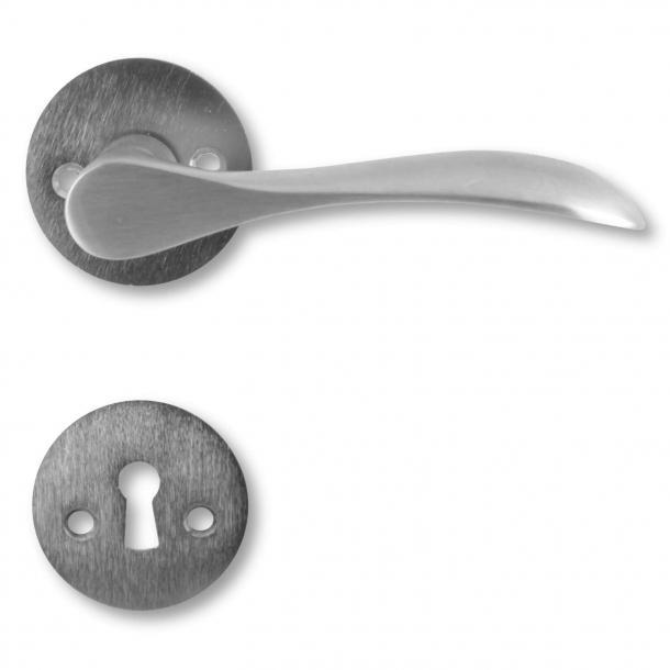 Door handle - Interior - Brushed (200149) - BELLEVUE