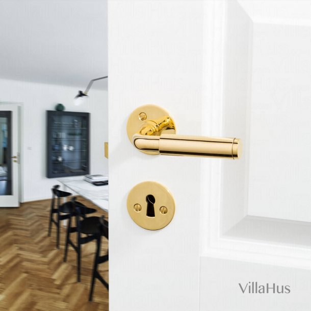 FUNKIS door handle interior - Brass Door handle - 20mm