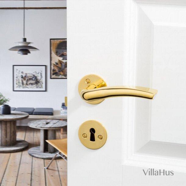 Dørgreb udendørs - Messing/Aluminium - LINUX