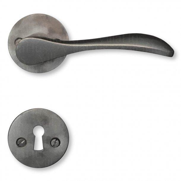 Door handle interior - Oxidized brass (200157) - BELLEVUE