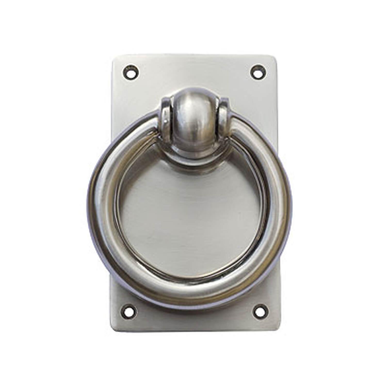 Door knocker ring 251 nickel satin 202701 door knocker - Door knocker nickel ...