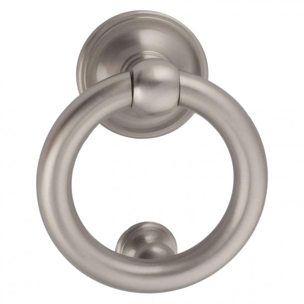 Dørhammer ring 701, nikkel satin, 100 mm (202693)