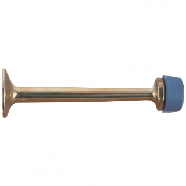 Door stop 254 - Brass without lacquer - 90 mm