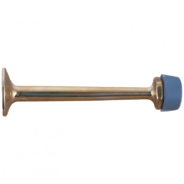 Dørstopper 254 - Messing uden lak - 90 mm