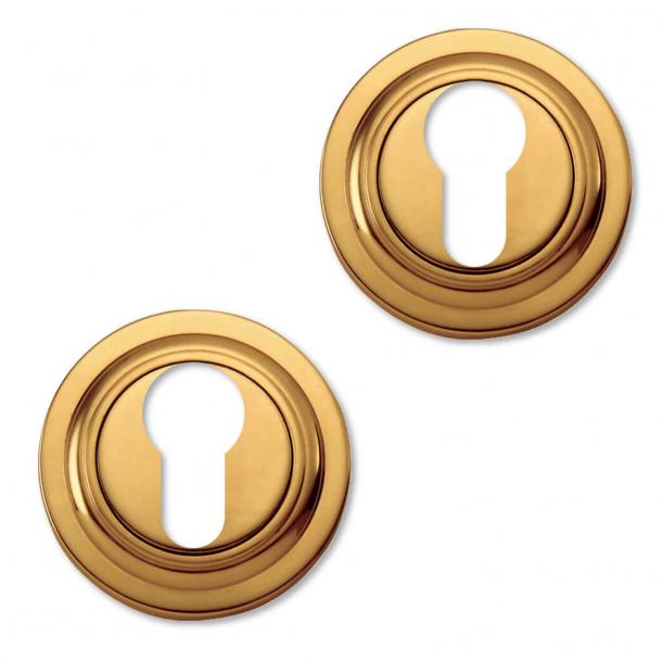 Cylinder ring - Europrofile lock - Brass - Model CB2045 - Ø45mm