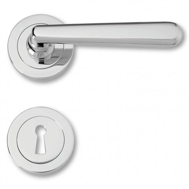 Dörrhandtag inomhuskrom - XX Century - modell 480291