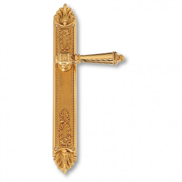 Door handle interior - Back plate - Brass - First Empire - model C11010