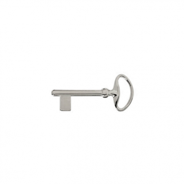 Key in nickel-plated brass - 75 mm - XX Century Style - Model C54500