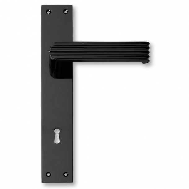 Türgriffe - Innenbereich - Schwarz matt - 1930er Jahre - C02910