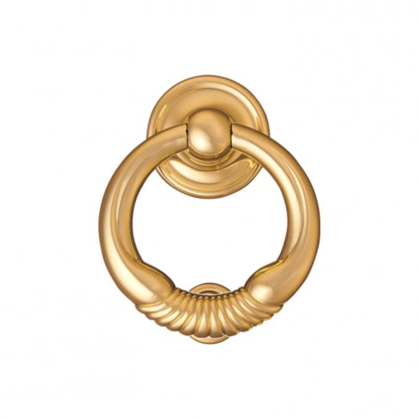 Door knocker Ring 700, Enrico Cassina, Brass, 100 mm