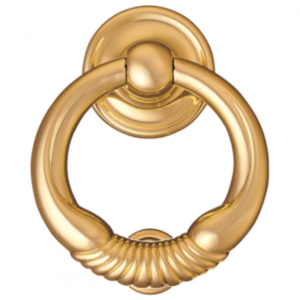 Door knocker, Ring 700, Brass, 150 mm (700-150)