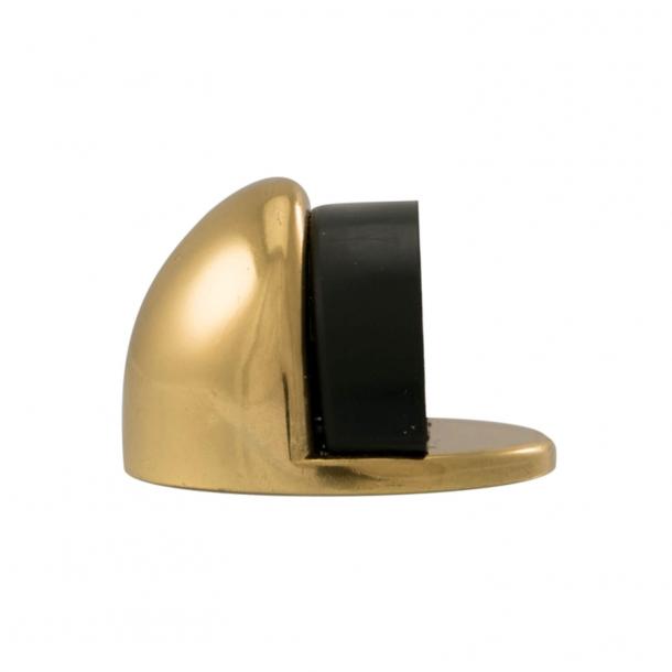Door stopper 1305 - Polished brass - Low model