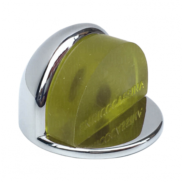 Doorstopper 1305 - Chrome and Yellow - Low Model