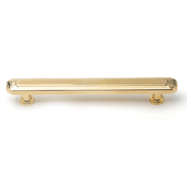 Cabinet handle - Brass without lacquer - Omporro C17890 - cc128mm