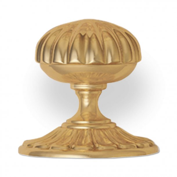 Centre door knob - Brass - Model 168