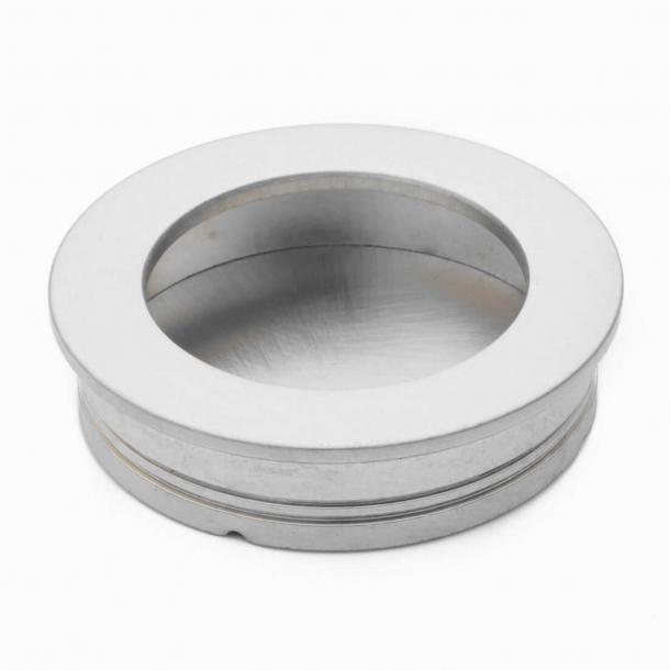 Flush handles 595 60 Satin Nickel - 59x39x10mm