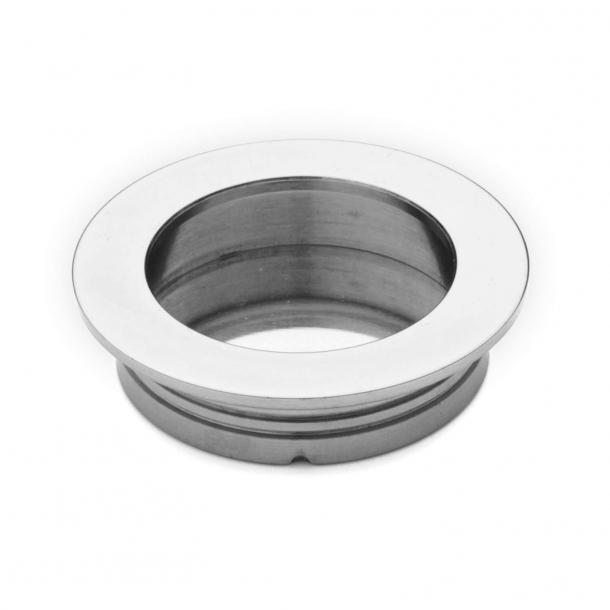 Uchwyt okrągły - Chrom - 48x40x10mm