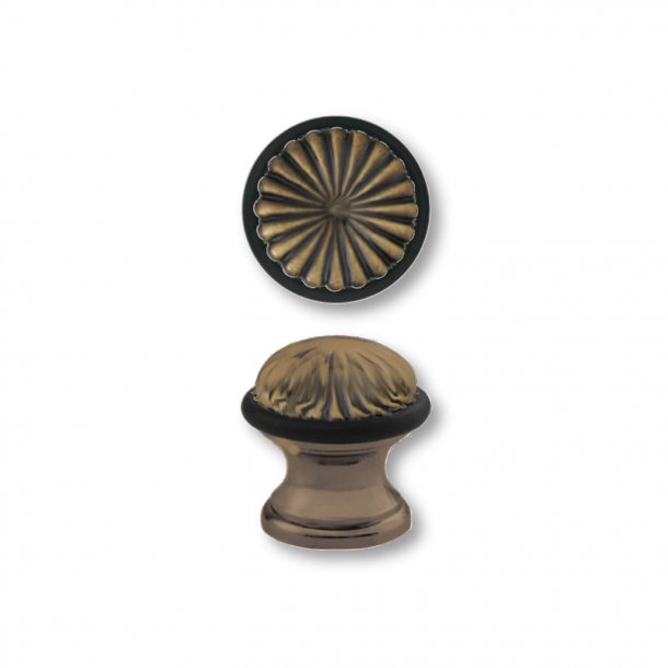 Dørstopper C52000 - Antik bronze - Kolonial stil - 42 mm